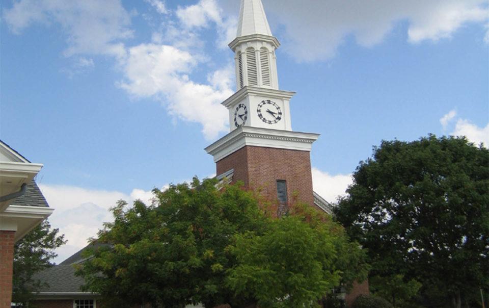 eastminster presbyterian church tower in dallas, texas